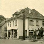 Der Betrieb an der Hauptstraße in den 40er Jahren